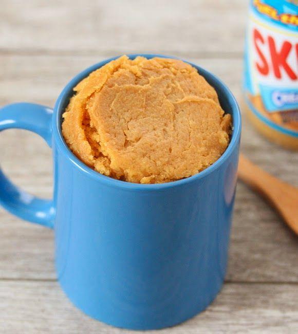 Peanut Butter Mug Cake (Eggless)