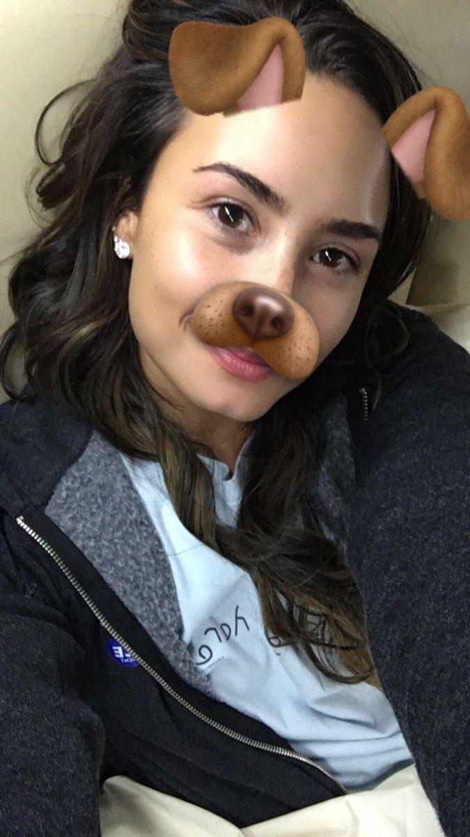 Demi Lovato via Snapchat (theddlovato)