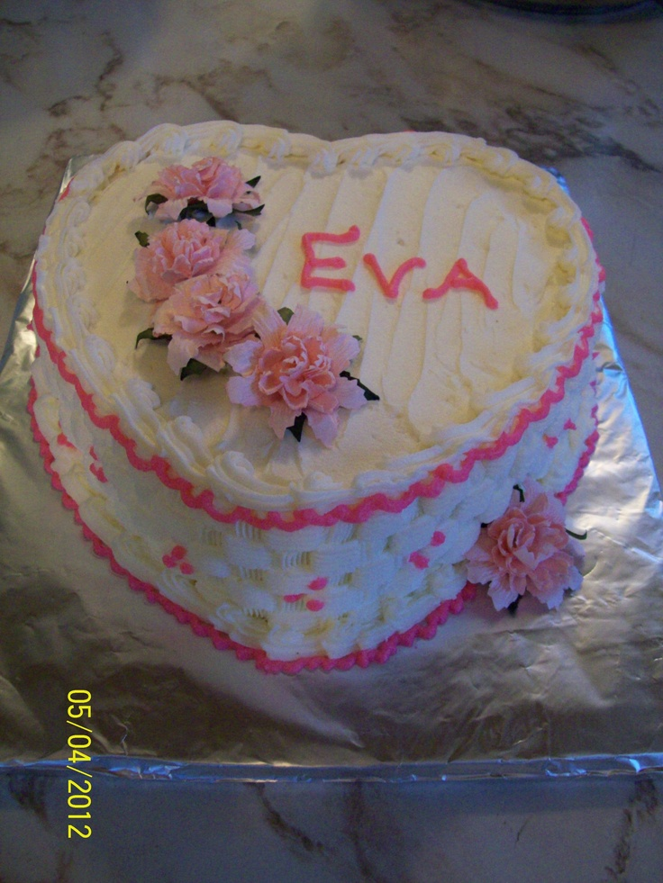 162 Best Decorated Heart Cakes Images On Pinterest Heart