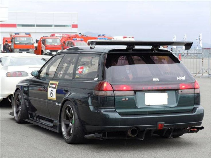 Subaru Legacy speed wagon