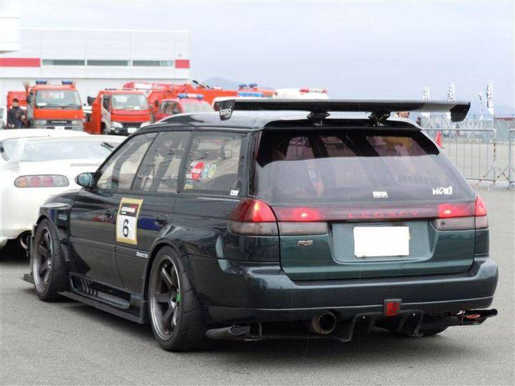 Subaru Legacy speed wagon