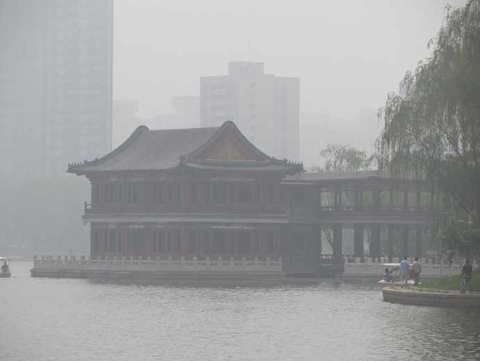 It's a sad but true fact that air pollution is bad in Beijing, and it can get really bad (pea soup kind of bad) – especially if there are sand storms in Mongolia.
