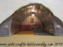 How to make a model Bomb shelter