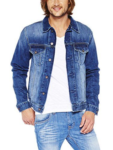 COLORADO DENIM C970 YUKON - Chaqueta Hombre, color azul, talla Medium