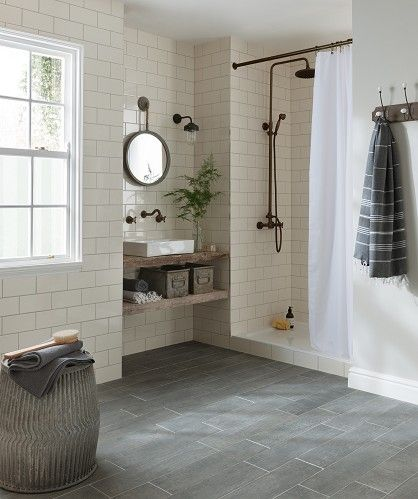Best Cream Tile Floor Ideas On Pinterest Cream Bathroom