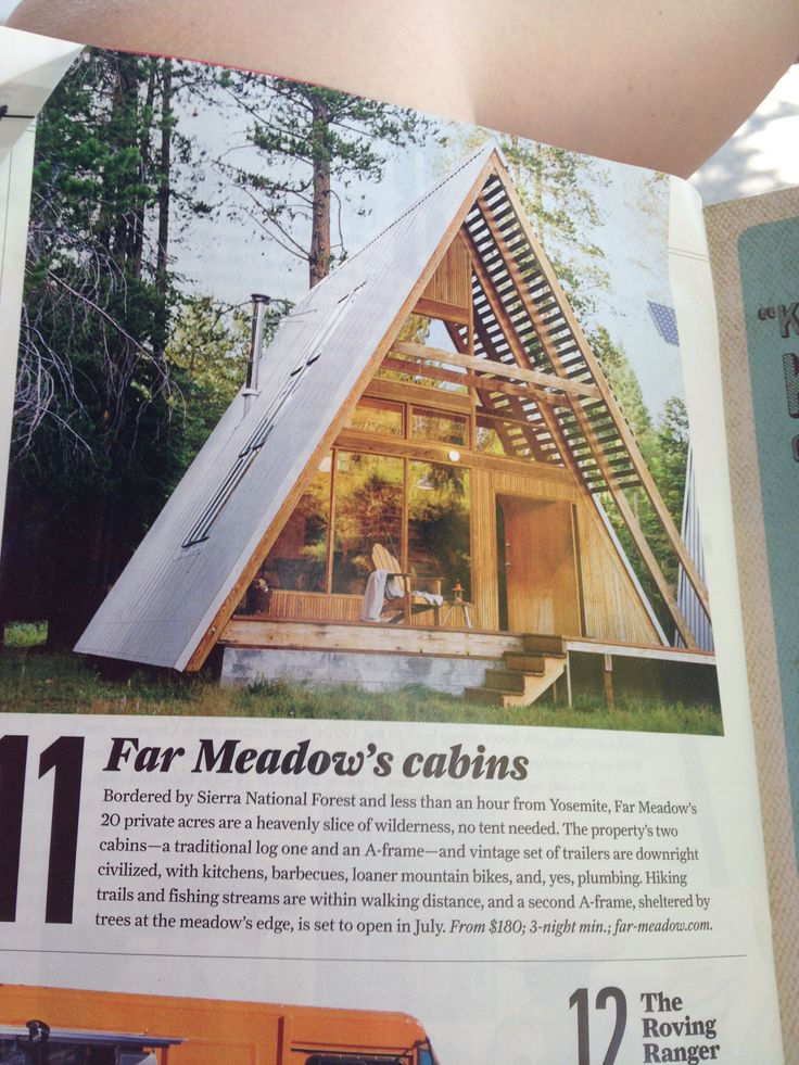 A Frame House Idea If Building A Small Cabin Gg Loves
