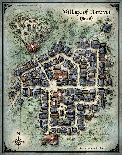 Curse of Strahd; Village of Barovia; (Digital DM & Player Versions)