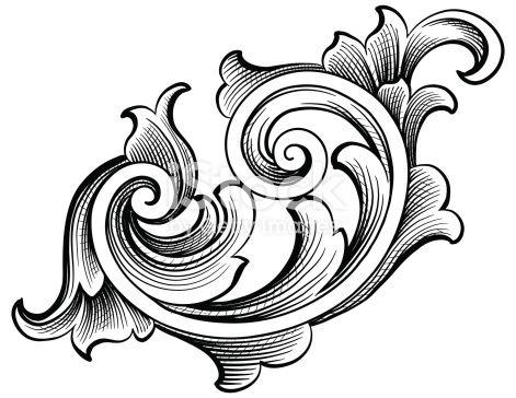 Pin On Barock Muster Vorlage