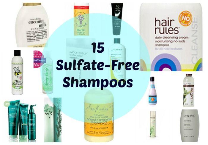 15 Sulfate-Free Shampoos