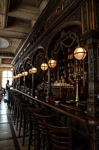 Cafe Pushkin Apothecary Bar