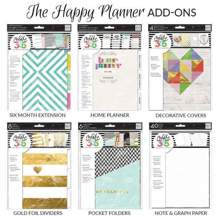 276 best planners and planner accessories images on for Happy planner accessories