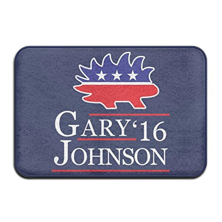 """GARY JOHNSON Libertarian For US President Floor Mat/cover Carpets 16""""x24"""" - Brought to you by Avarsha.com"""