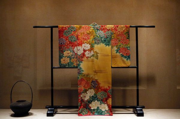 A Japanese kimono with peonies, circa 1930s. Credit Hiroko Masuike/The New York Times 'Kimono: A Modern History' at the Met Tells Rich Stories Through Fabric - NYTimes.com