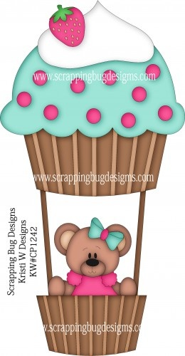 cupcake air balloon