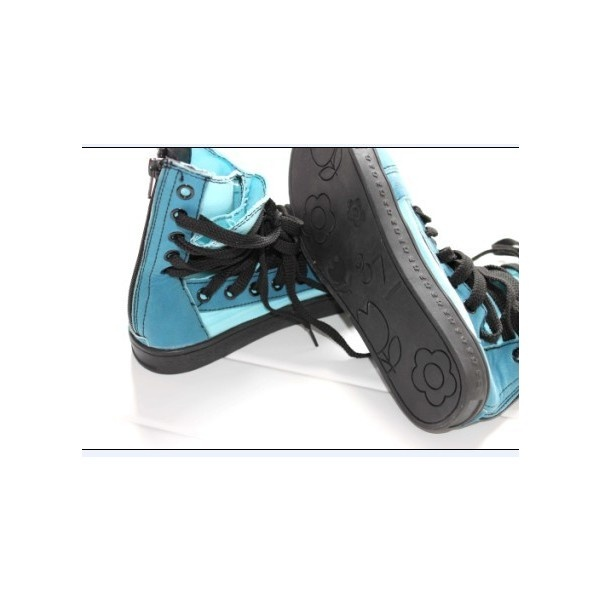 Special Design Tied Casual Shoes Blue found on Polyvore