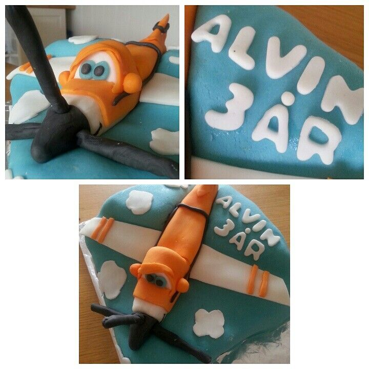 Cake for 3 year old boy. Planes