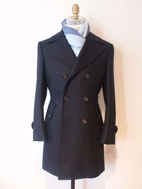 Azabu Tailor – Double breasted Loro Piana coat