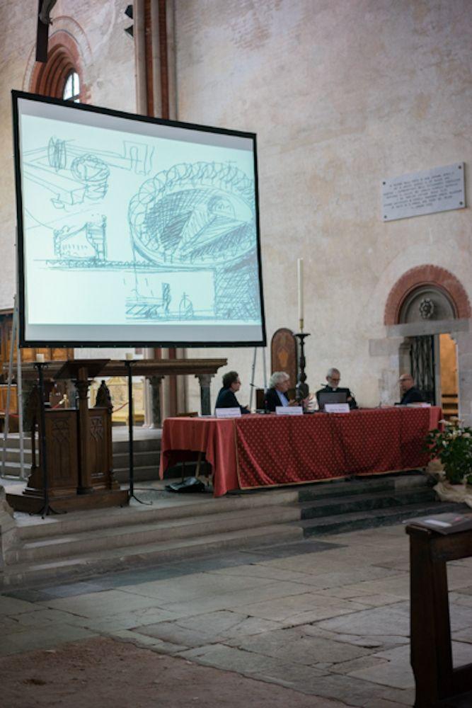 Abbazia di Sant'Andrea di Vercelli, l'arch. Mario Botta parla del suo progetto: la cattedrale di Evry in Francia