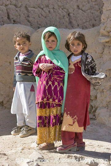 Afghan children in Bamiyan