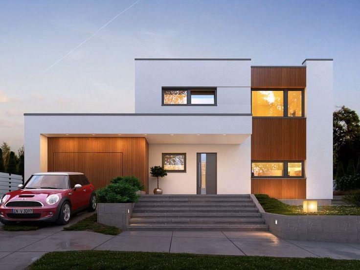 Nowoczesny, piętrowy dom jednorodzinny, z jednostanowiskowym garażem. Swoim pełnym programem funkcjonalnym zapewnia komfort i wygodę 4-5-osobowej rodzinie.