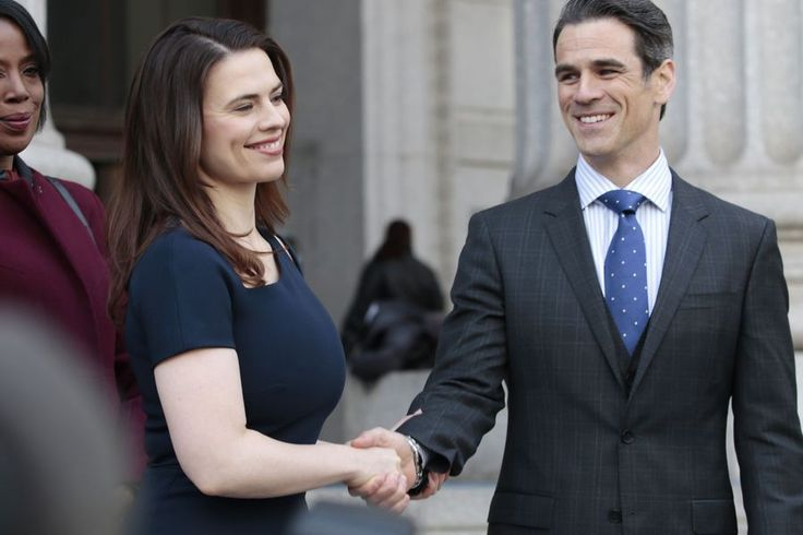 Image of Eddie Cahill and Hayley Atwell in Conviction (2016) Series