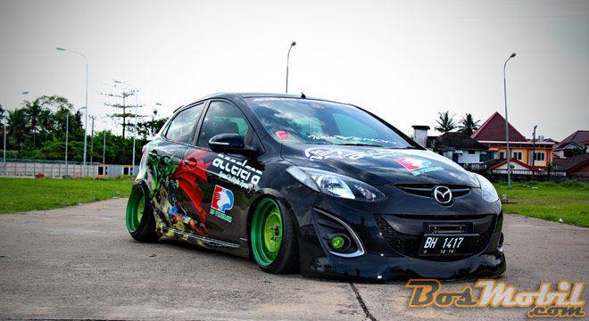 Mazda2 Modifikasi