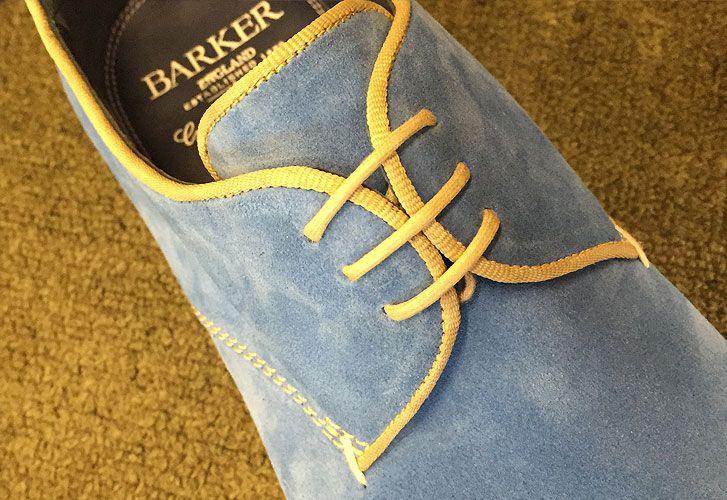 A visit to the Barker shoe factory outlet shop — Northampton shoes