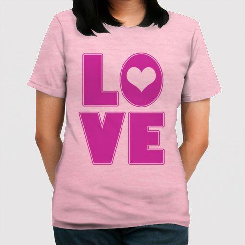 Love dari Tees.co.id oleh Kaosukasuka Shop