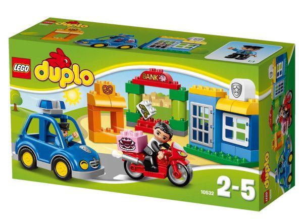 POLITIE LEGO DUPLO (10532) Hotul se strecoara pe langa brutarie si este gata sa fure banii de la banca.
