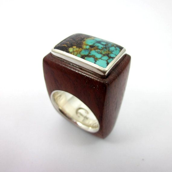 8 best Mens Gold Turquoise Rings images on Pinterest Gold
