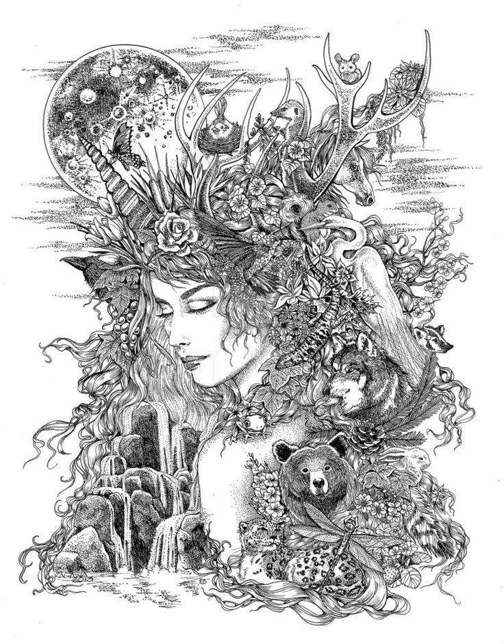 Gaia Dreams of Earth by LKBurke29 on DeviantArt