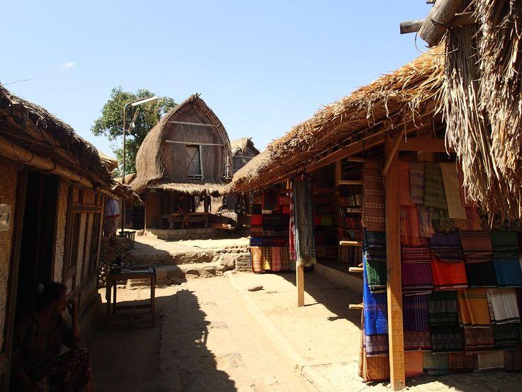 Sade is a traditional Sasak village in Lombok