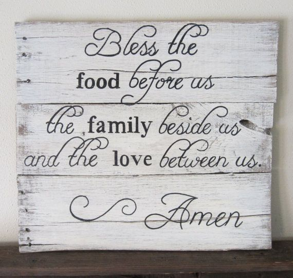 Kitchen Prayer Quotes: 188 Best Images About Fall Sign Ideas On Pinterest