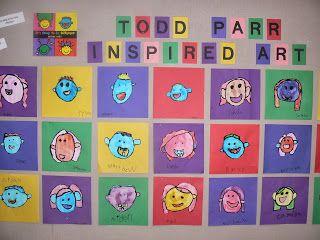 Todd Parr Art - Mrs. Ts First Grade Class