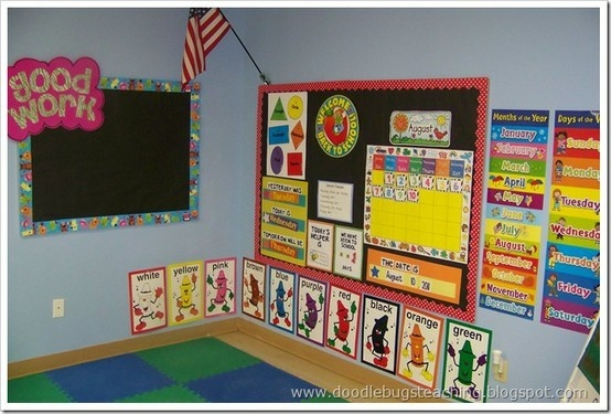 This is adorable!Calendar Area, Classroom, Calendar Time, Circle Time, Calendar Boards, Circles Time, Daily Workout, Bulletin Boards, Work Boards