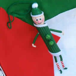 Homemade Christmas Ornaments For Adults Elf Ornaments