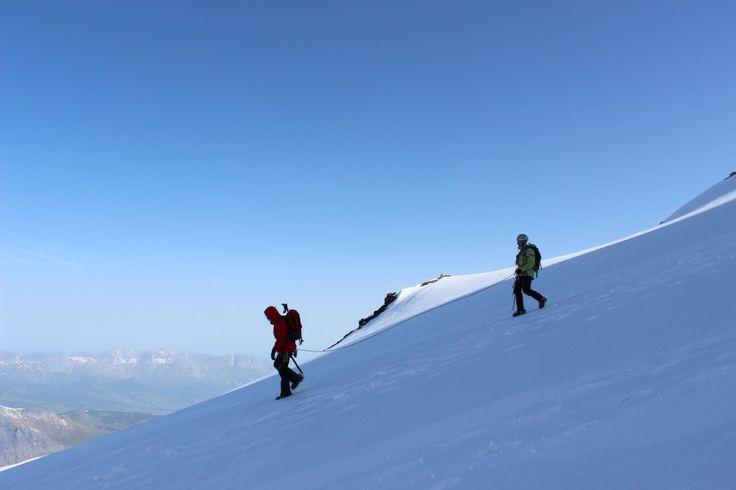 Préparation Mont-Blanc