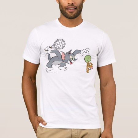 Tom and Jerry Tennis Stars 2 T-Shirt - click to get yours right now!