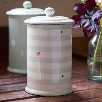 Storage jars for flour, sugar, nuts anything you fancy