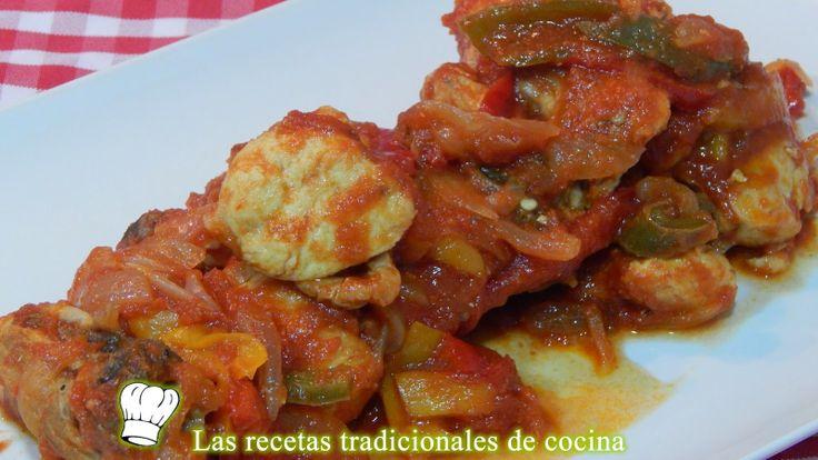 Receta fácil de pollo a la Vasca - Recetas de cocina con sabor tradicional
