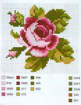 "Gallery.ru / Фото #168 - deytero - ergoxeiro [   ""cross stitch chart Tutorial for Crochet, Knitting...Keka❤❤❤"",   ""Beautiful. Sympathy card?"",   ""Another lovely rose X-stitch pattern, with colour key"",   ""pink rose miniature needlework chart"",   ""Rose flower perler bead pattern"",   ""www.passionforum.ru upload 120 046"",   ""plenty of embroidery patterns"",   ""Gallery.ru / ergoxeiro - Альбом \""deytero\"""" ] #<br/> # #Cross #Stitch #Rose #Pattern,<br/> # #Cross #Stitch #Flowers,<br/> # #Free…"