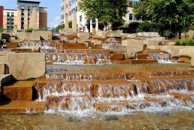 Water Steps on Pittsburgh's North Shore, next to PNC Park