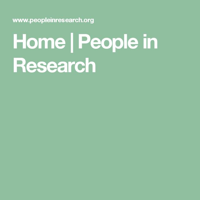 Home | People in Research