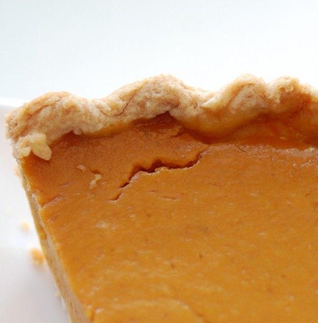 Pumpkin Pie - my boyfriend's mum makes a delicious one!
