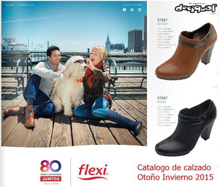 Catalogo de Calzado Flexi Otoño Invierno 2015. Moda mexicana