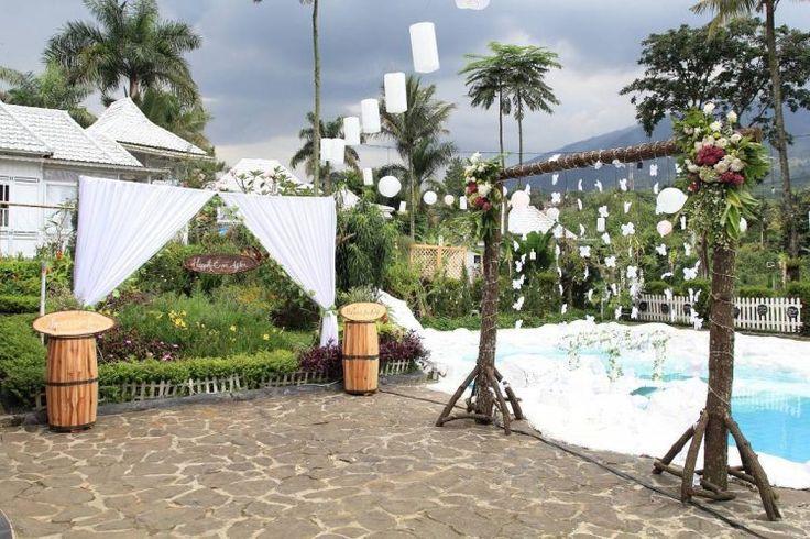 Lima Rekomendasi Tempat Pernikahan Outdoor di Bogor