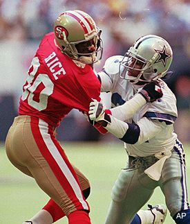 Jerry Rice on Deion Sanders Trap Music | Trap Music Definition http://www.slaughdaradio.com