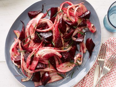 Roasted Beets with Fennel Vinaigrette: Food Network, Food Recipes, Vinaigrette Recipes, Roasted Beets, Network Kitchens, Whole Food, Food Cooking, Fennel Vinaigrette, Favorite Recipes