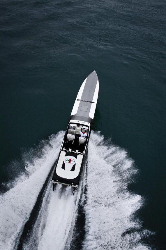 Mercedes AMG Black Series 50 Marauder Cigarette Boat