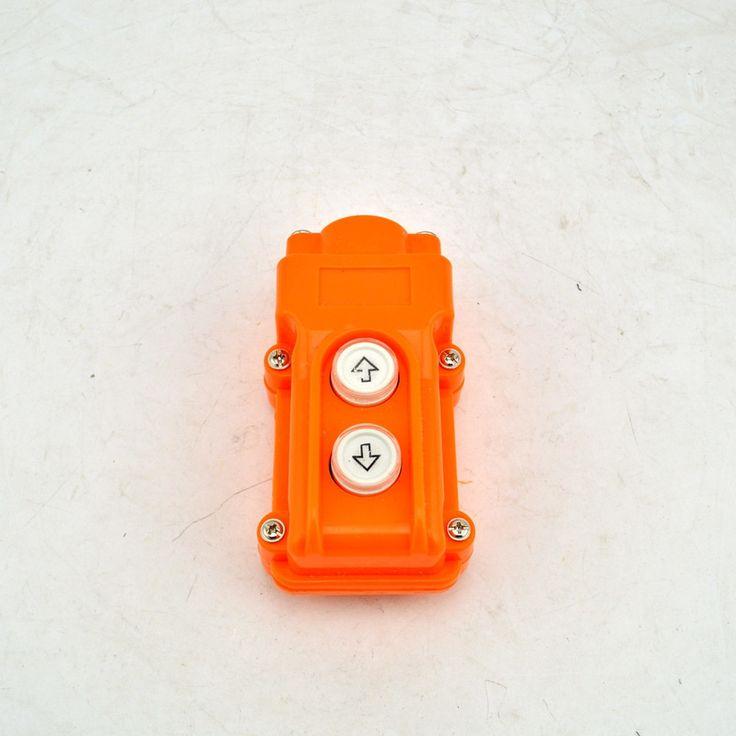 COB-61 Argent Contacter Up Down bouton-Poussoir de Grue de Levage Interrupteurs à Bouton-Poussoir Étanche COB61